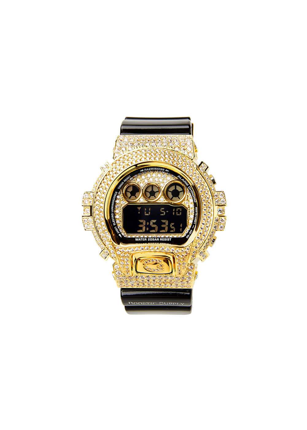 DW6900-GCBKGD GOLD (BLACK BAND)
