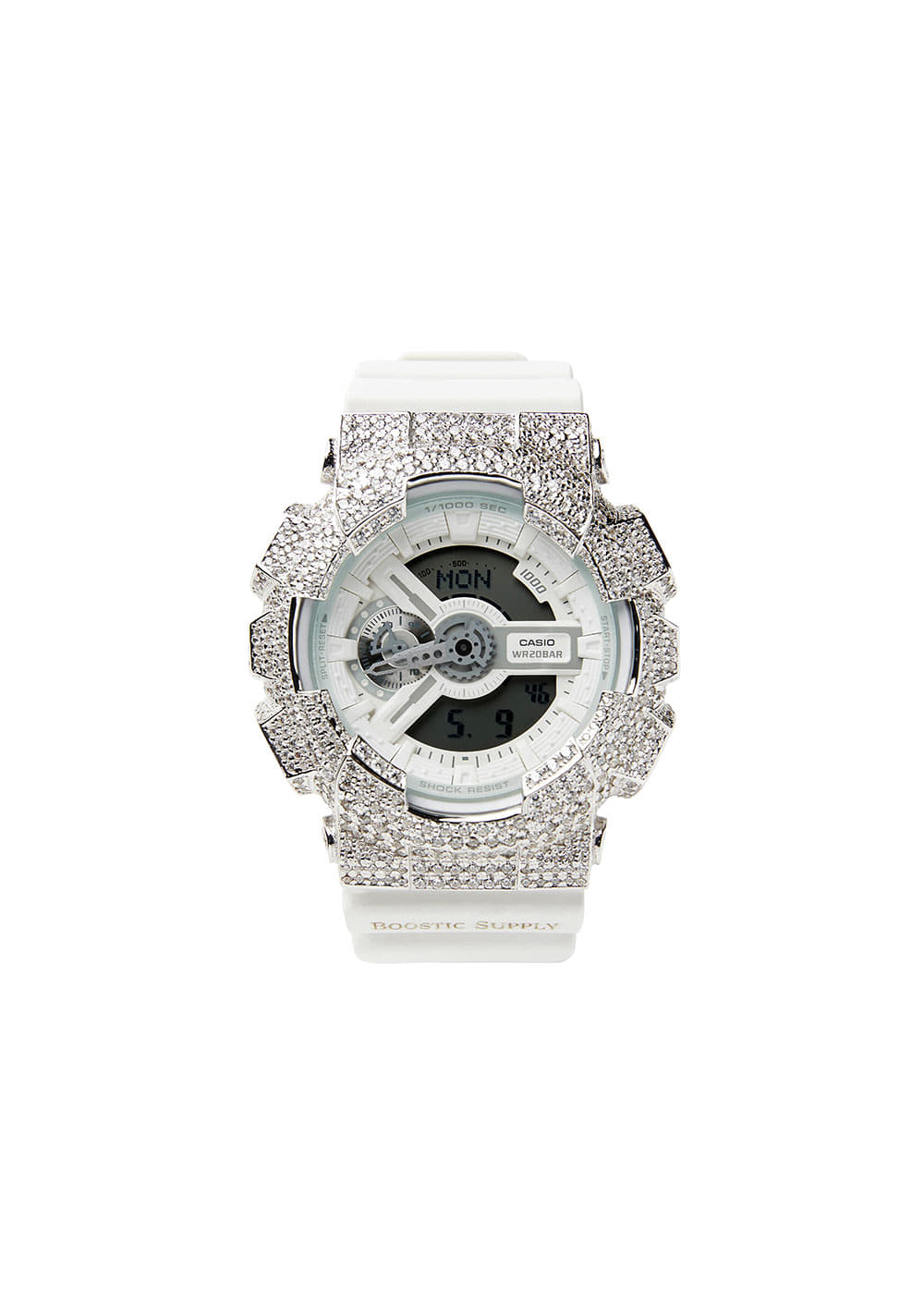 GA110-GCWHWG WHITE GOLD (WHITE BAND)