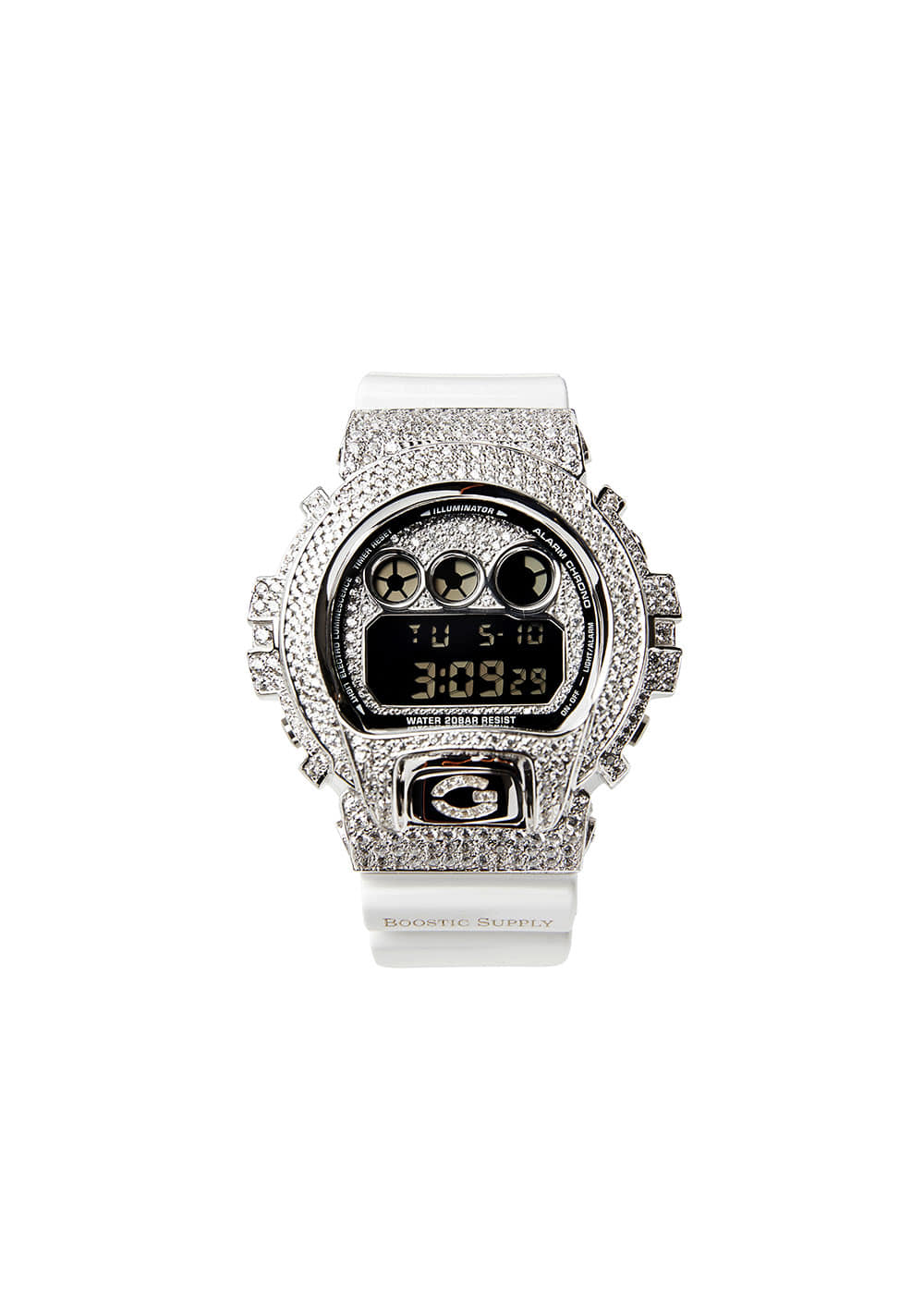 DW6900-GCWHWG WHITE GOLD (WHITE BAND)